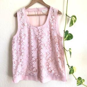🍂5/$25 sale🍂Next Pink Woven Sleeveless Top